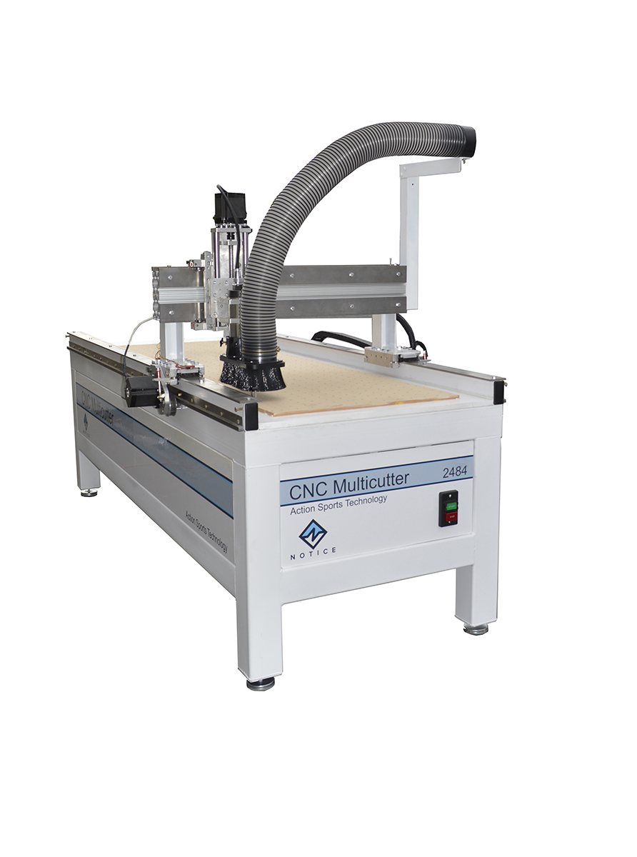 CNC Muliticutter Router with blade