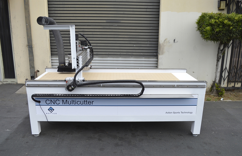 CNC Multicutter right side